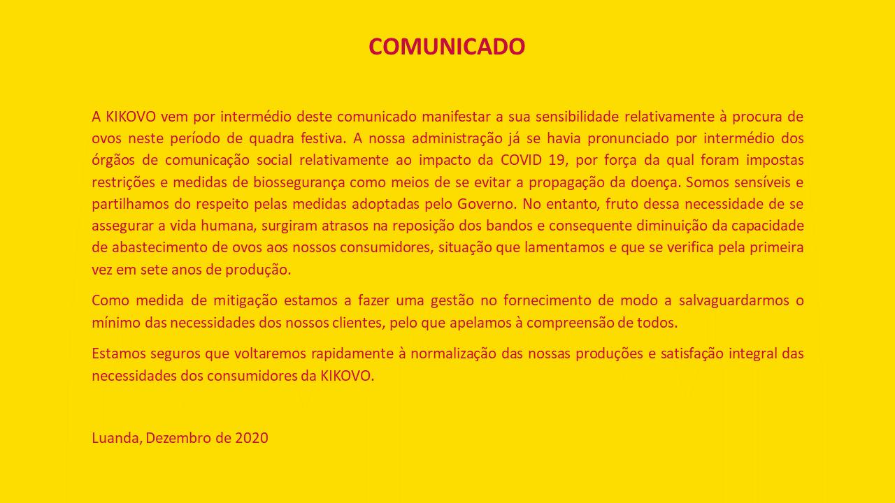 Kikovo Comunicado